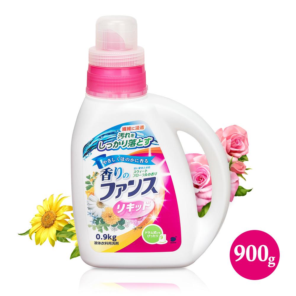 【第一石鹼】FUNS花香洗衣精0.9kg