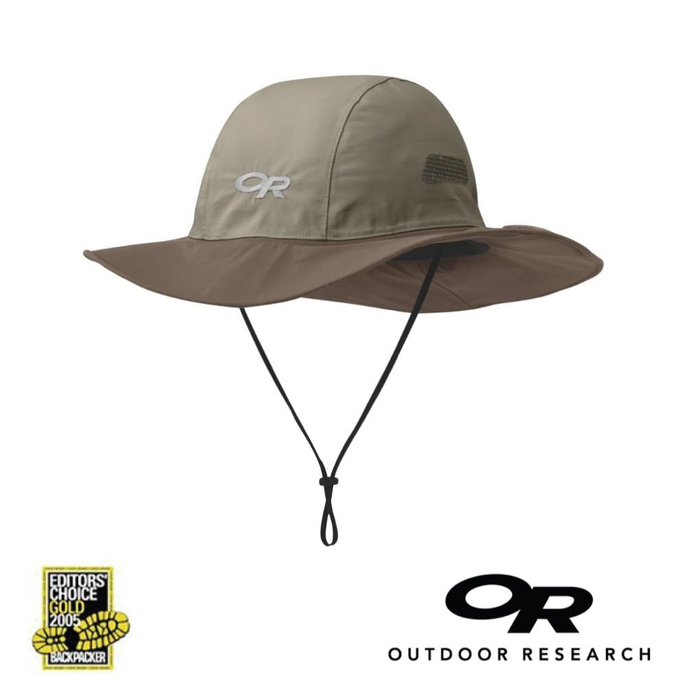 【美國Outdoor Research】卡其L-經典款防水透氣防曬可折疊遮陽帽