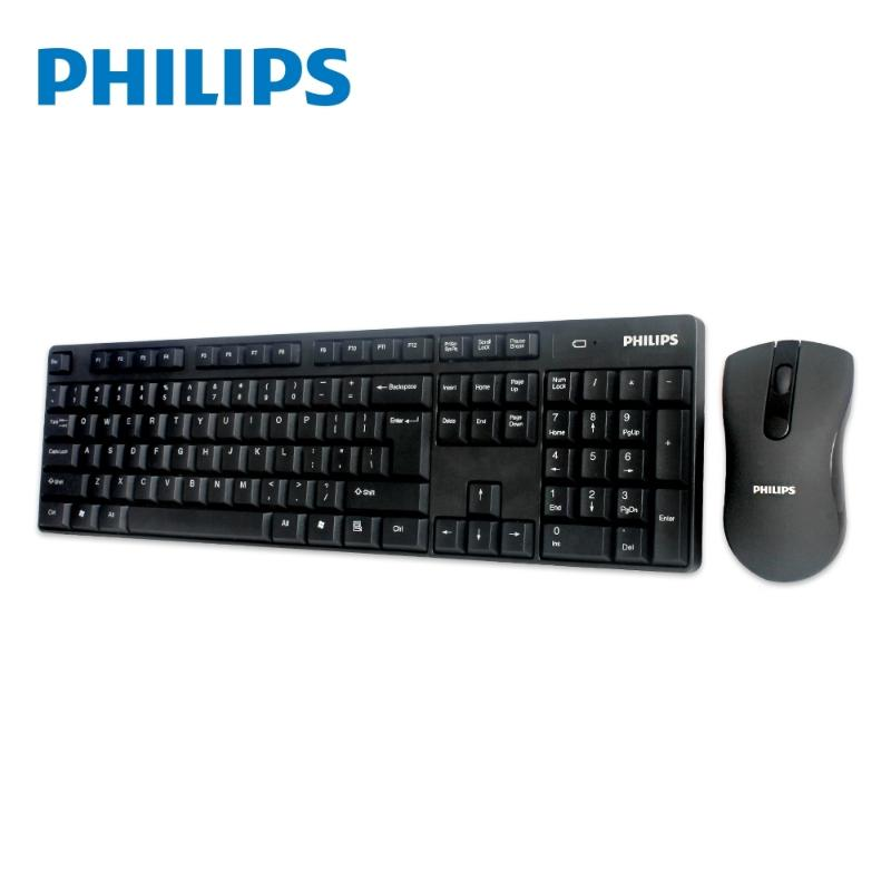 飛利浦 無線鍵盤滑鼠組 SPT6501
