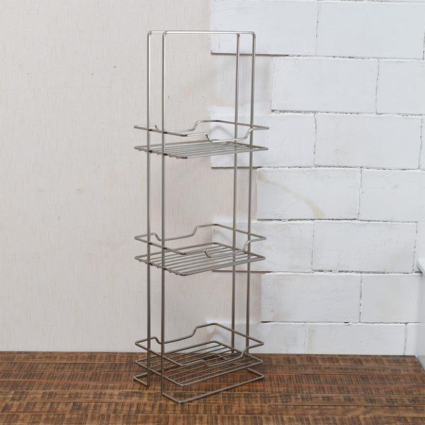 Metal霧鎳三層扁框架-生活工場