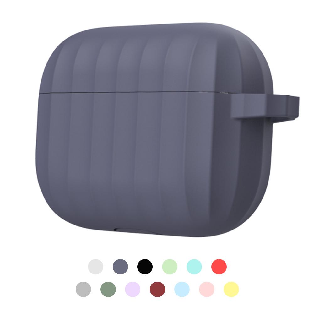 Dirose Apple AirPods Pro 矽膠防摔保護套(深藍)