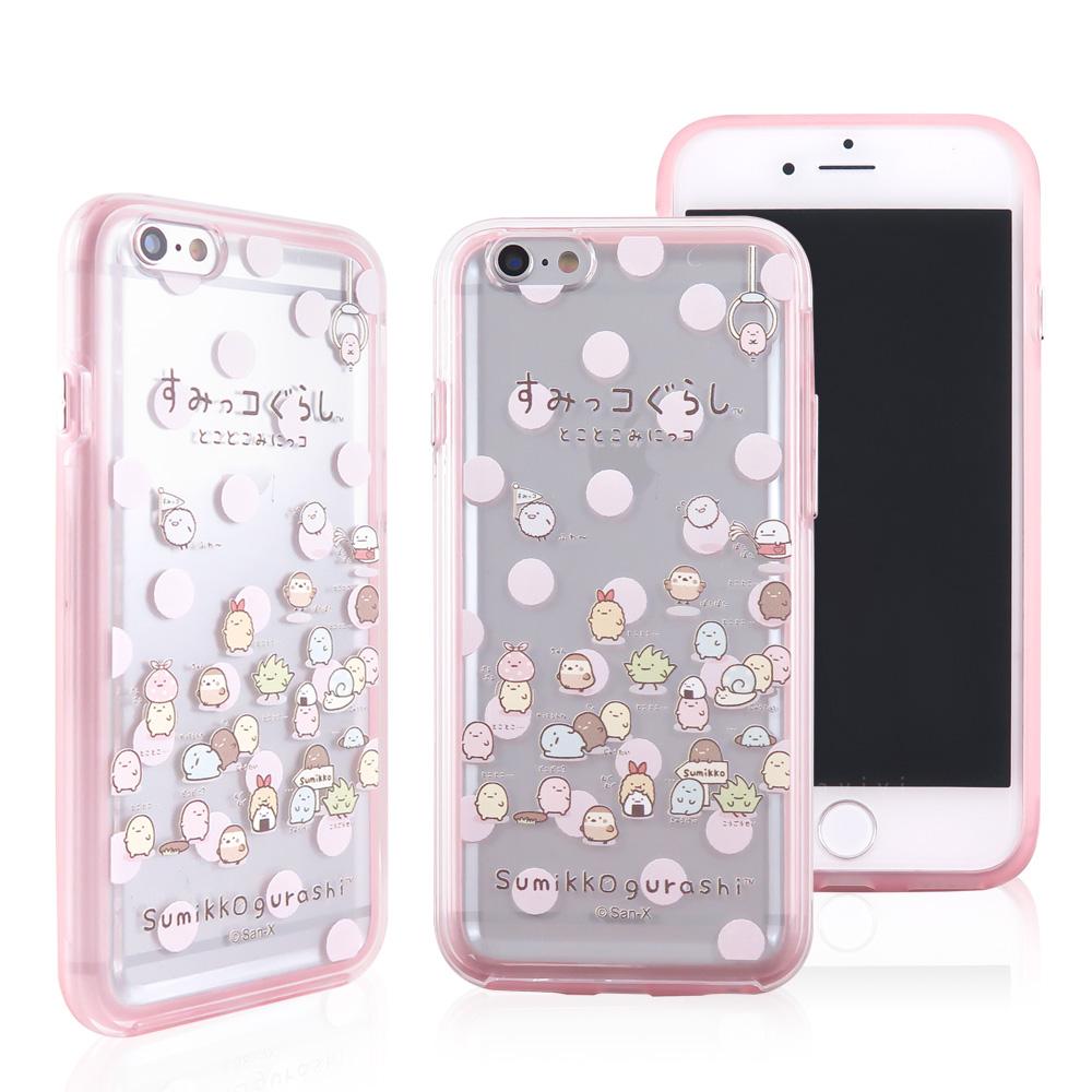角落小夥伴/角落生物 iPhone 6/6s(4.7吋)彩繪二合一雙料殼套_夾娃娃