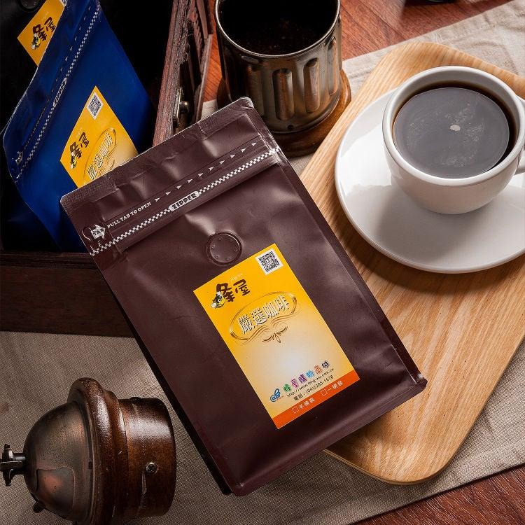 《蜂屋》曼特寧(半磅)+巴西(半磅),單品咖啡豆組合包