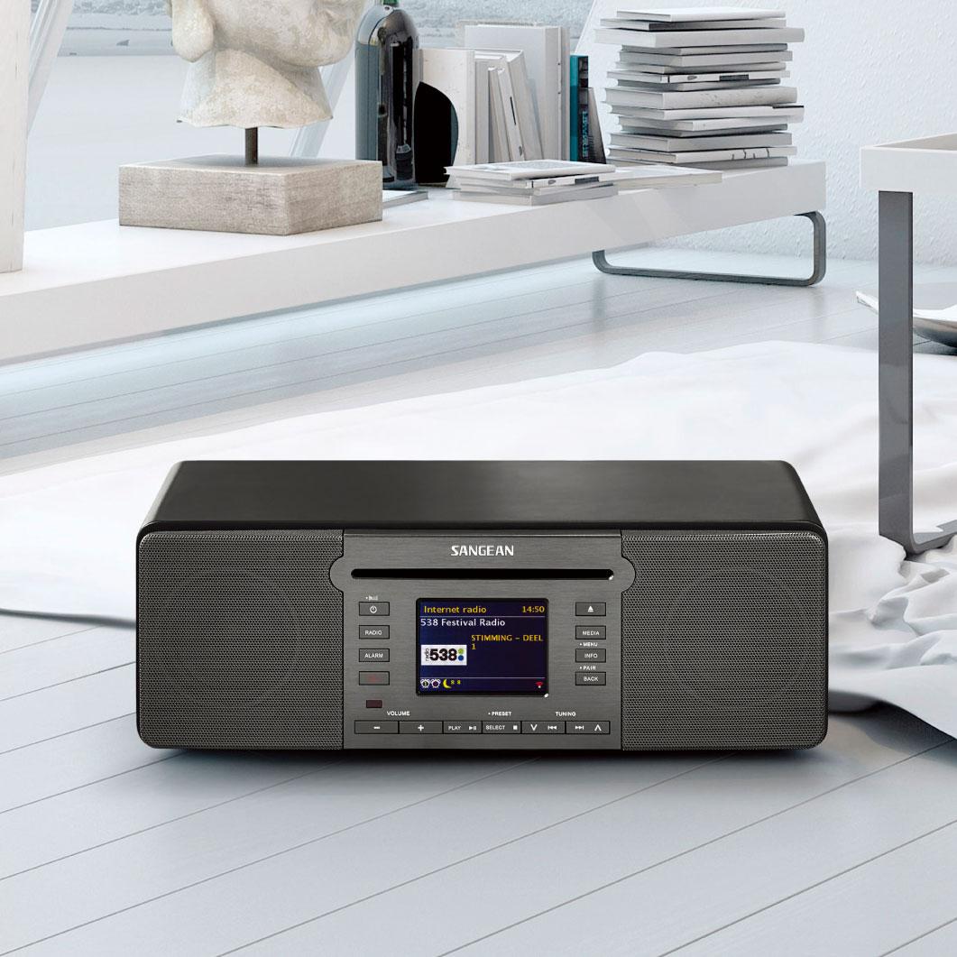 山進 SANGEAN DDR-66BT 數位音響Internet Radio/DAB+/FM-RDS/Bluetooth/CD MP3/WMA/SD/USB
