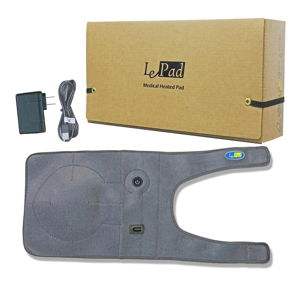 【LePad】USB行動膝部EU-35(樂沛醫療用熱敷墊-未滅菌)
