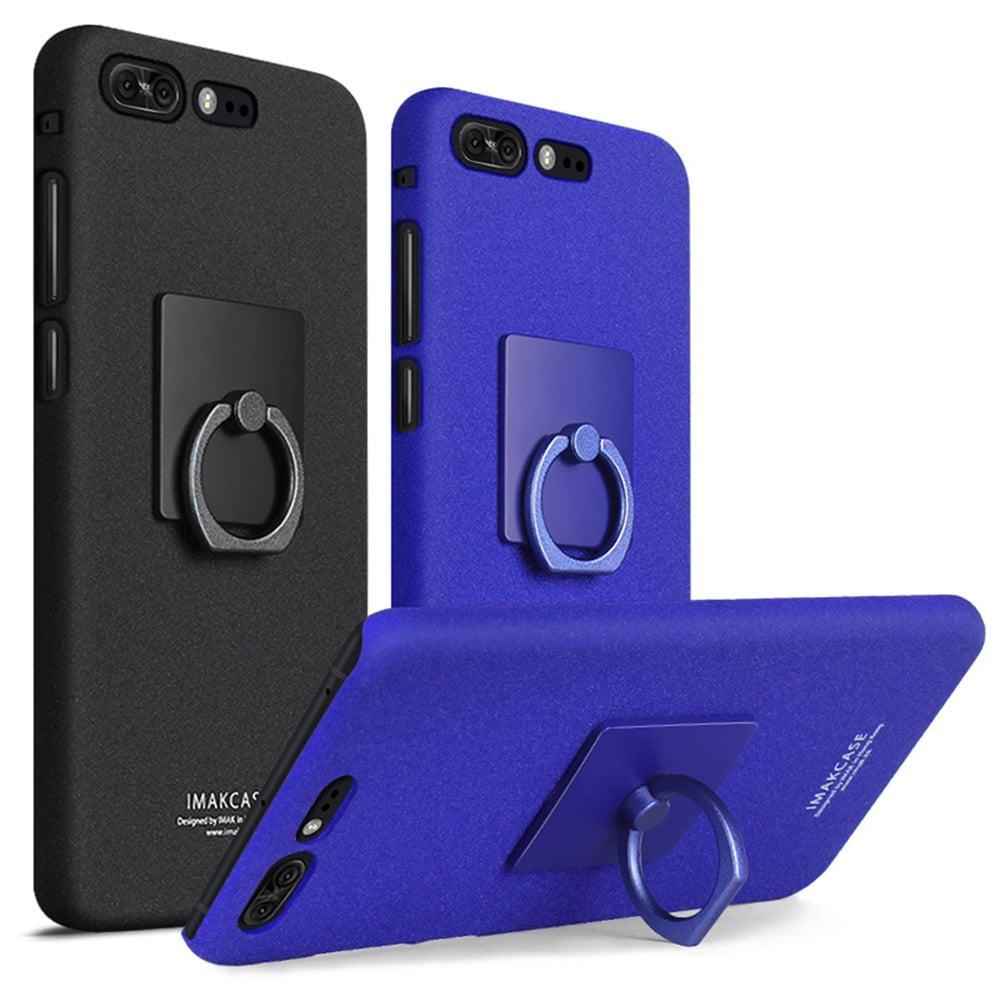 Imak ASUS ZenFone 4 Pro ZS551KL 創意支架牛仔殼(藍色)