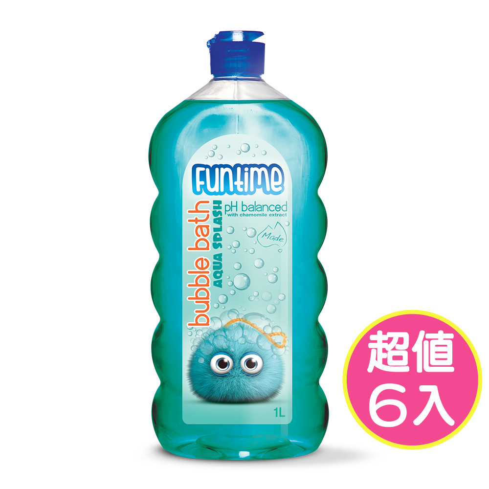 【澳洲Natures Organics】植粹兒童泡泡洗髮沐浴露(1Lx6入)