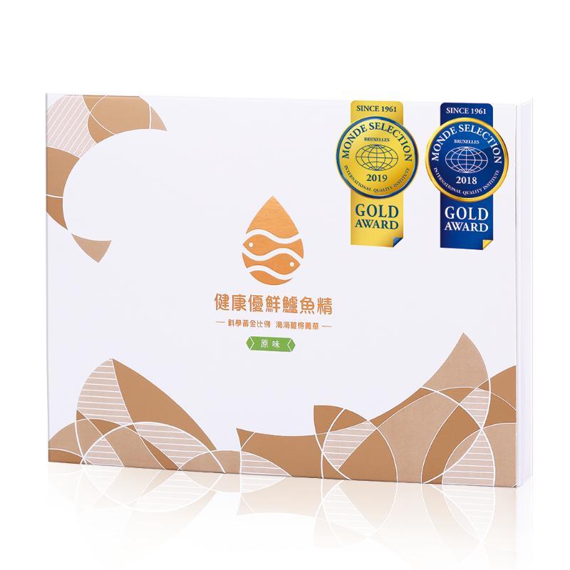 【健康優鮮】鱸魚精(原味)-(60ml*6包/盒)