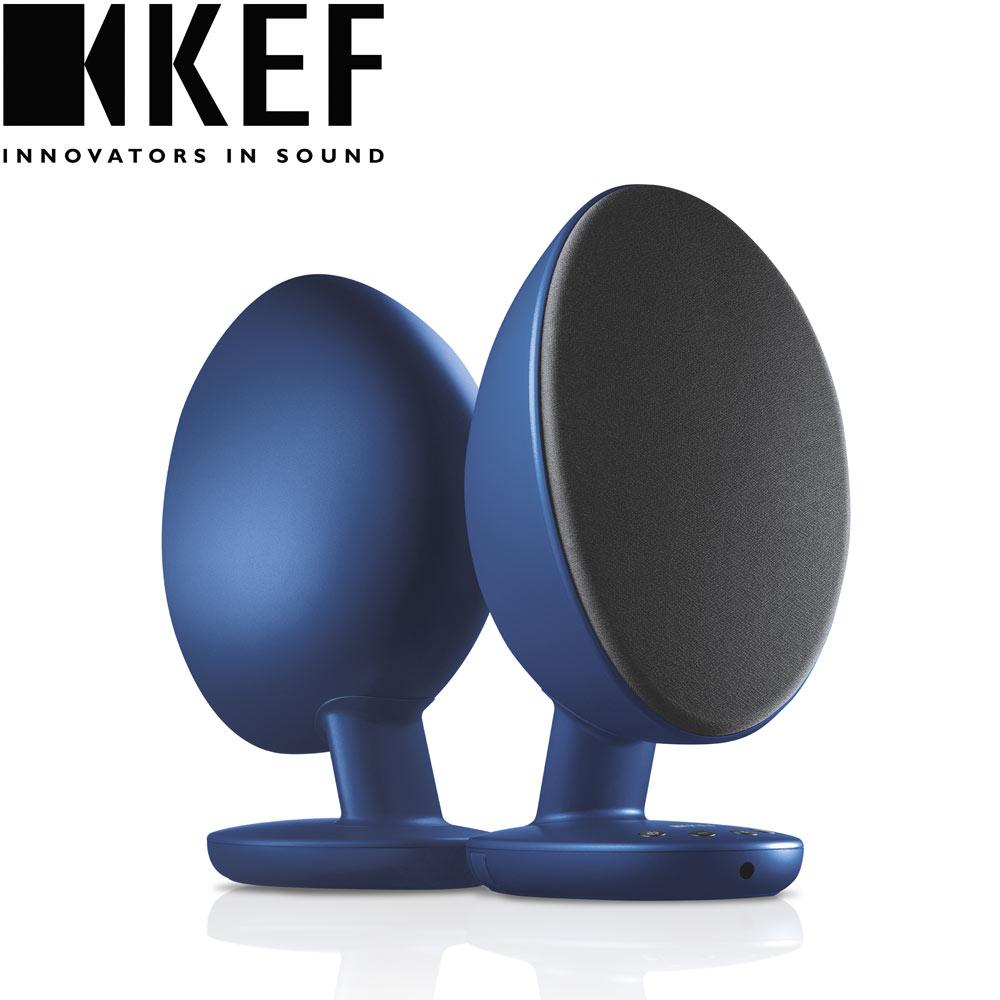 英國 KEF EGG藍牙無線喇叭 - 藍色