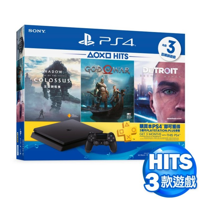 SONY PS4 HITS5 同捆組