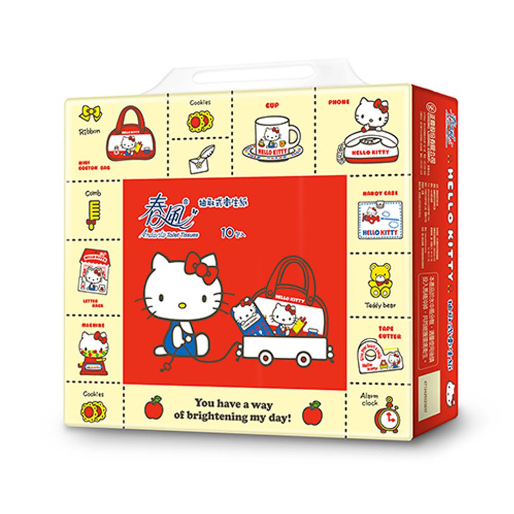 春風 Hello Kitty 抽取式衛生紙 限量包 100抽x10包x2串