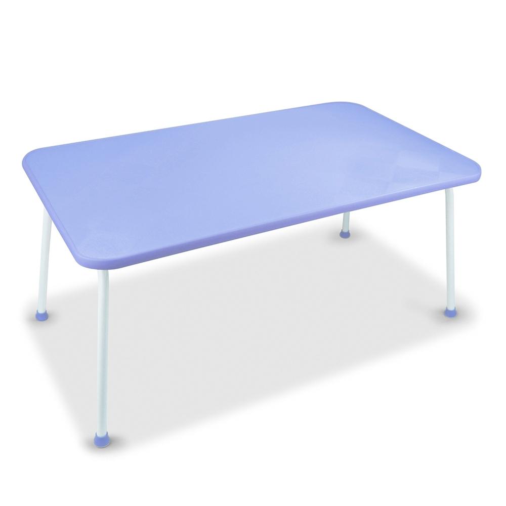 悠活簡約 多功能床上折疊電腦桌(LY-NB21)-藍色