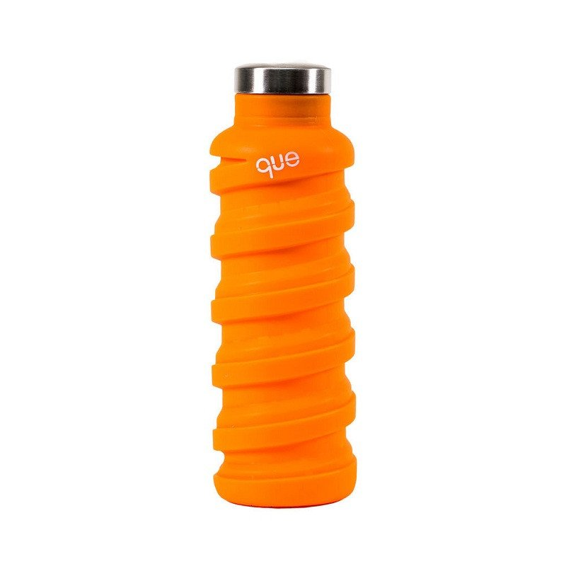 que Bottle 伸縮水瓶(600ml) -活力橘