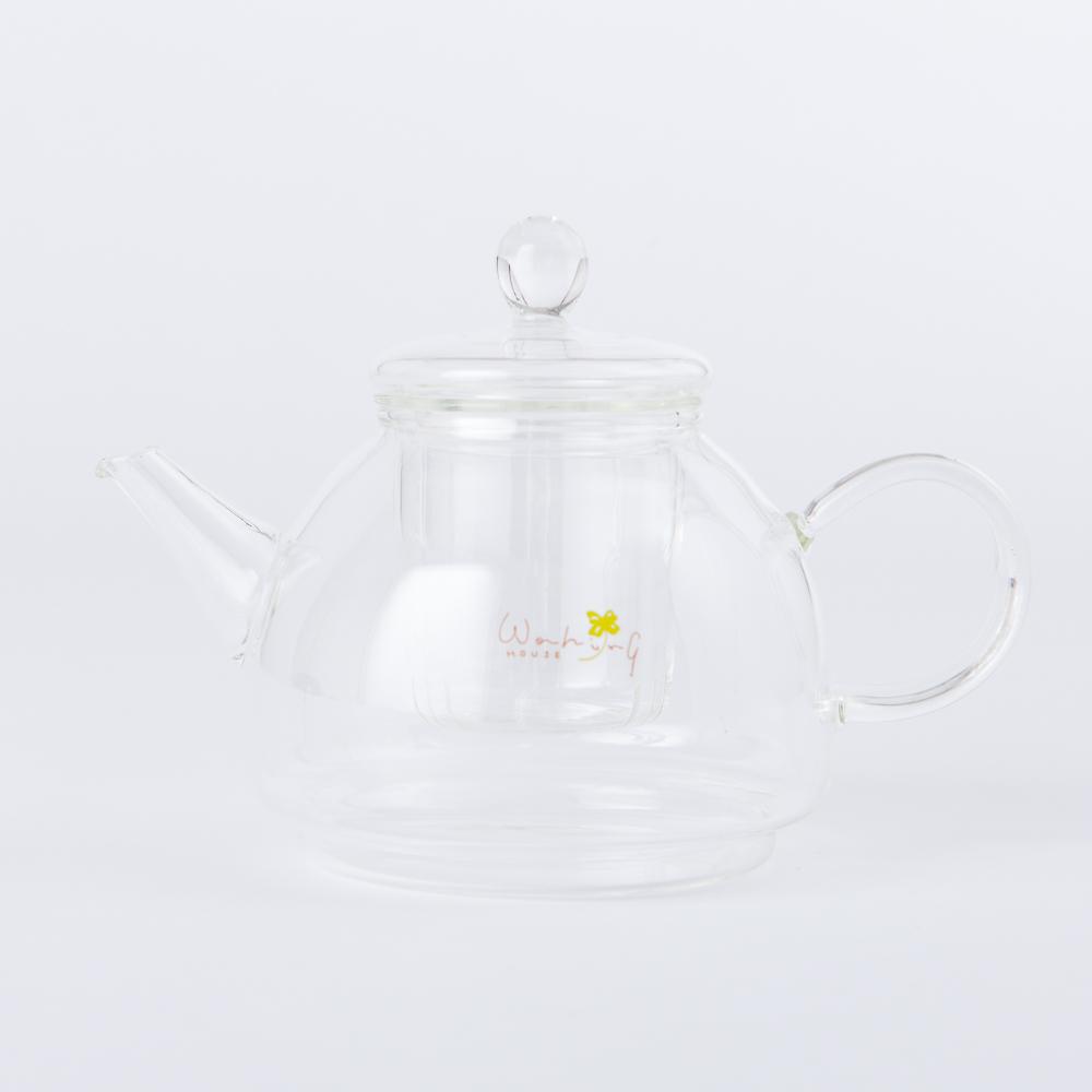 Clover樂活玻璃花茶壺550ml-生活工場
