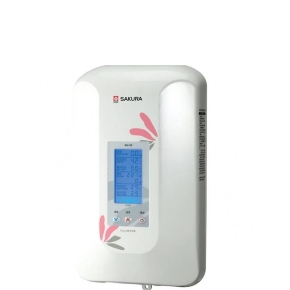 (全省安裝)櫻花即熱式數位恆溫瞬熱式電熱水器(與H125同款)熱水器瞬熱式H-125