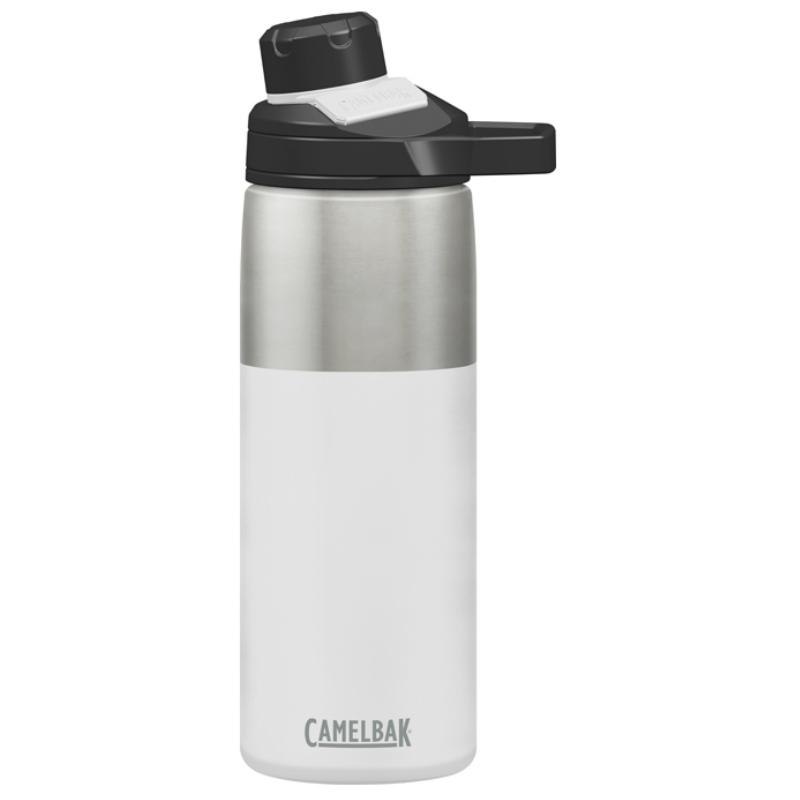 【美國 CAMELBAK】600ml戶外運動保冰/溫水瓶 白