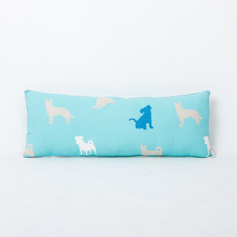 紳士犬長形抱枕30x90-生活工場