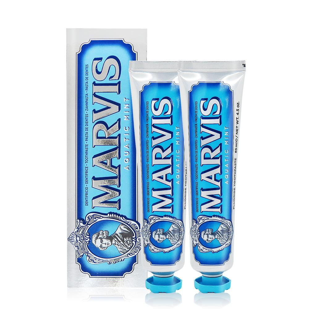 Marvis 海洋薄荷牙膏(85ml)X2-國際航空版