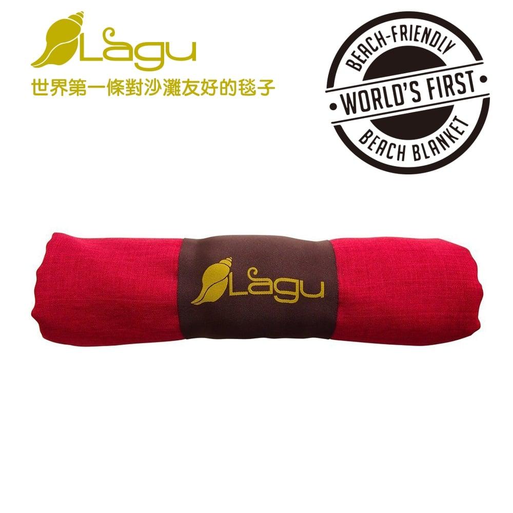 【澳洲Lagu】快乾防沙毯 (紅色)