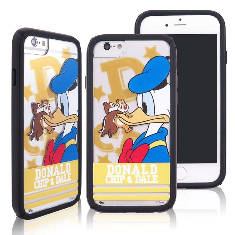 迪士尼│宙斯鎧甲 iPhone 6/6s/7/8(4.7吋)防摔殼_字母系列_唐老鴨