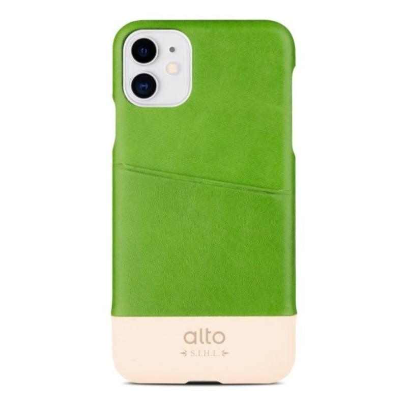 alto 背蓋 Metro iPhone11 6.1 綠/本