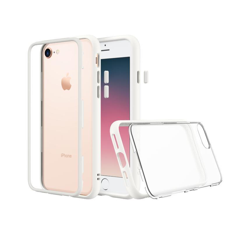 犀牛盾iPhone8/iPhone7 MOD防摔背蓋手機殼 白