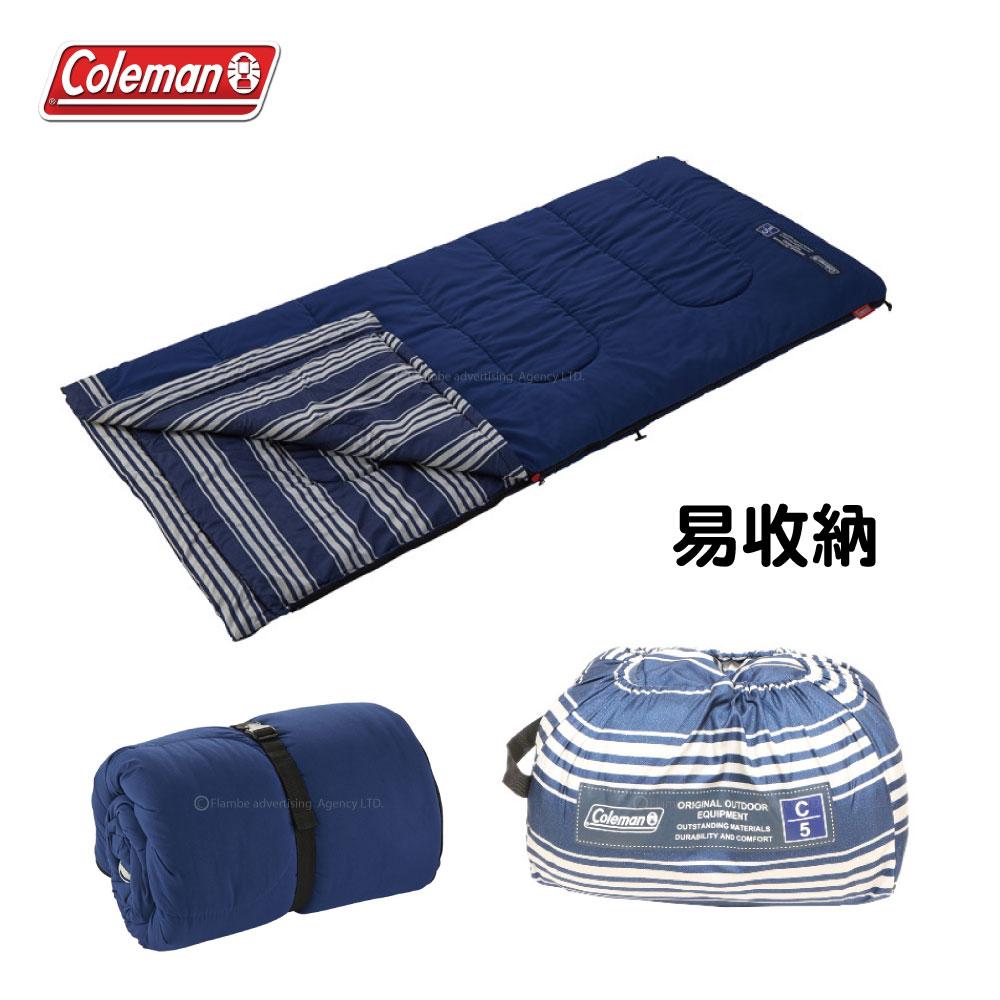 Coleman EZ足部刷毛睡袋/C5 睡墊 睡袋 可機洗 CM-31098