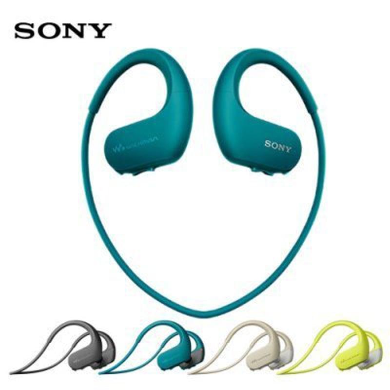 SONY 4GB NFC 防水 運動 藍芽耳機 NW-WS623   藍色