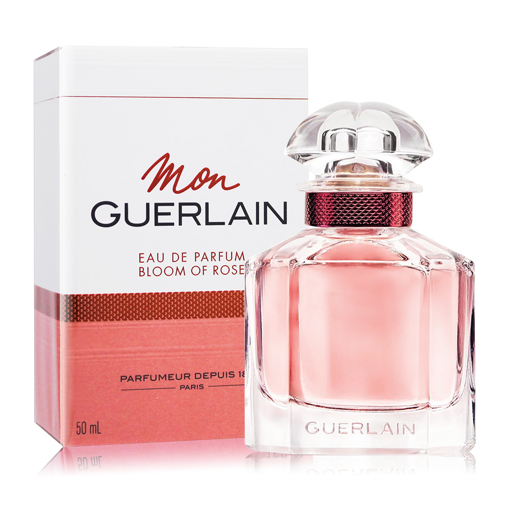 Guerlain 嬌蘭 我的印記玫瑰淡香精 Bloom of Rose(50ml) EDP-香水航空版