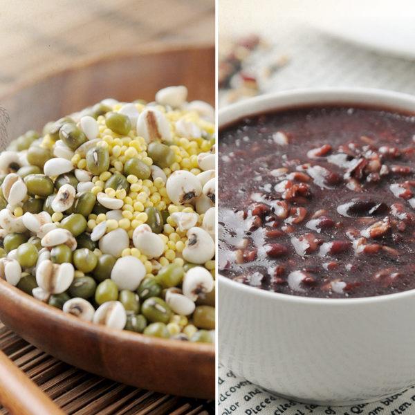 《紅藜阿祖》紅藜輕鬆包 紅豆紫米粥x3+綠豆薏仁湯x3(300g/包,共6包)