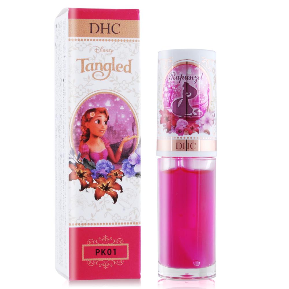 DHC Disney 公主潤色護唇蜜/唇油精華-長髮公主(4g)#PK01 粉紅
