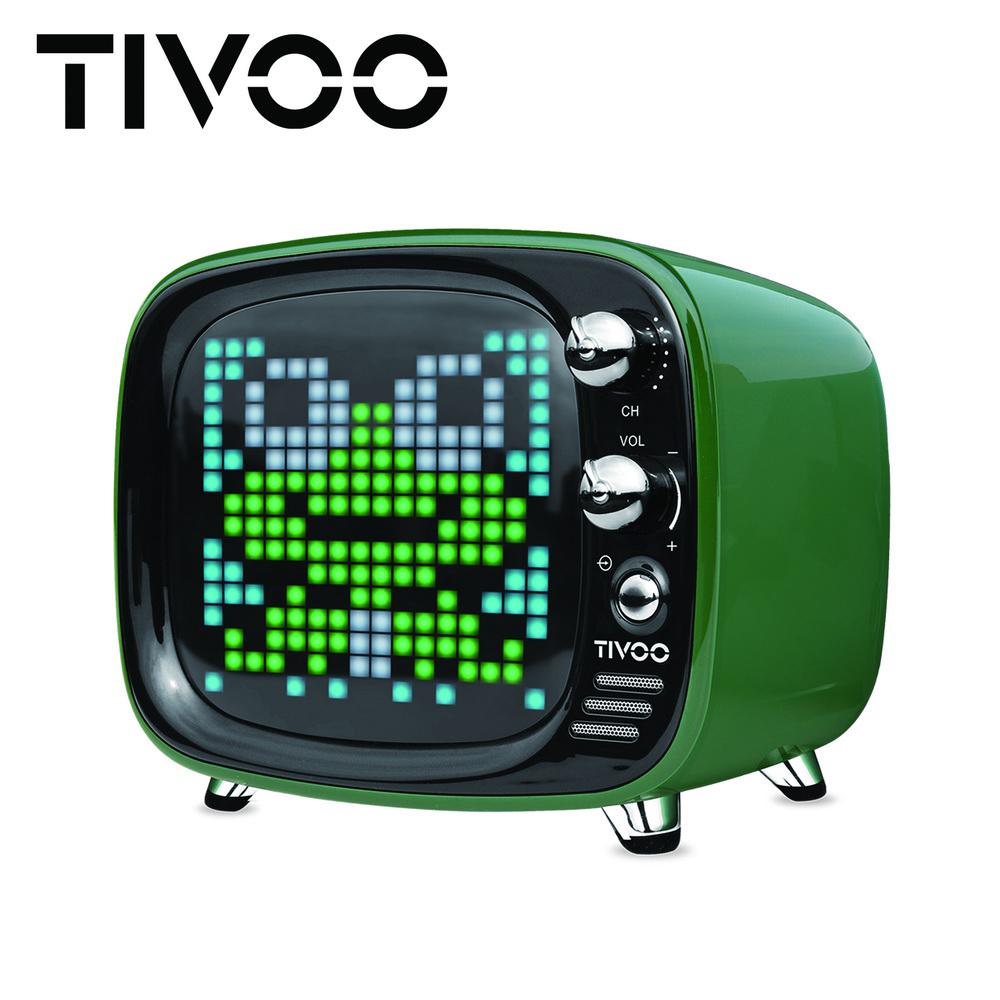 【DIVOOM】TIVOO 光音舞動智慧藍牙喇叭 - 英倫綠