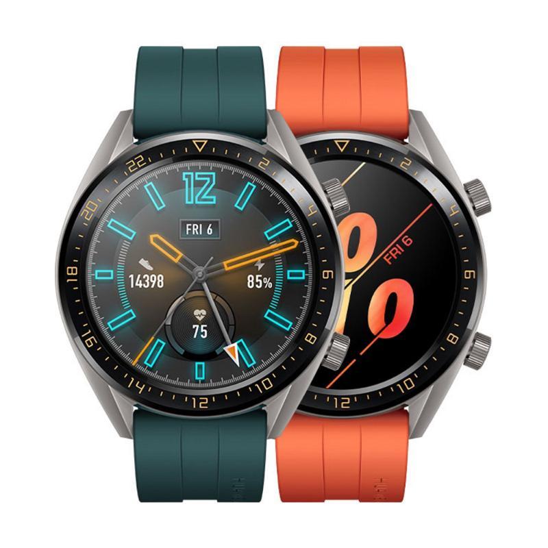 藍芽手錶 Huawei Watch GT鈦灰色(墨綠色錶帶)