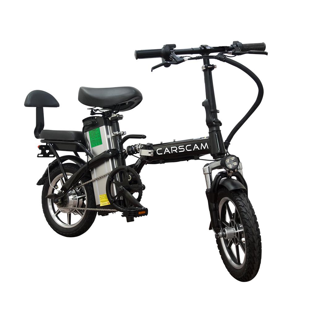 CARSCAM 145公里遠航代駕電動自行車(電動自行車 折疊車 親子車 電動車)