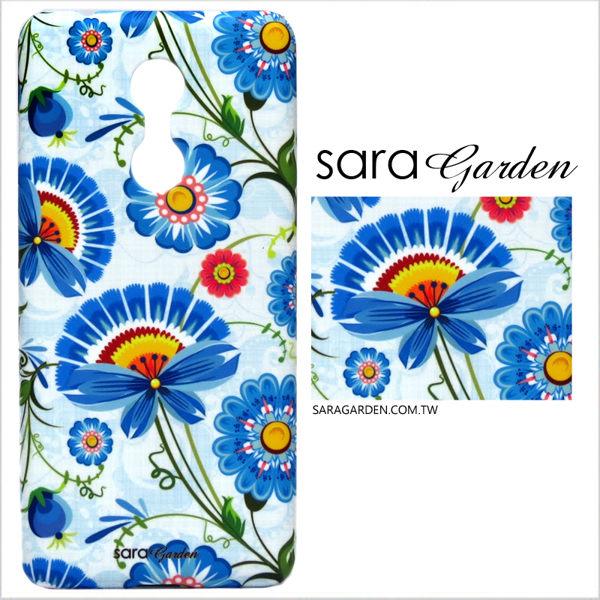 【Sara Garden】客製化 手機殼 Samsung 三星 Note10 保護殼 硬殼 藍眼菊碎花