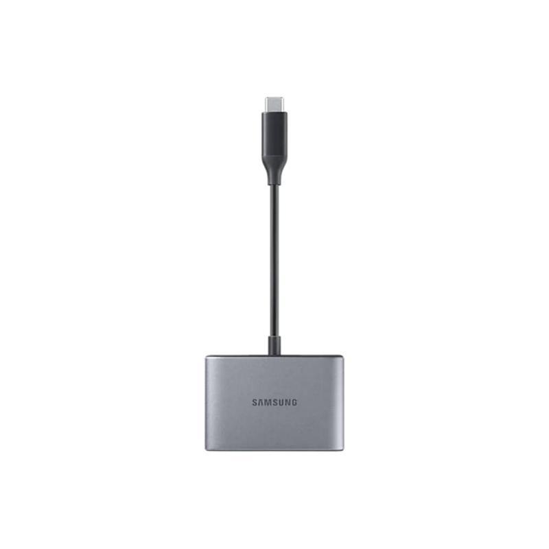 SAMSUNG 原廠3合1數位轉接頭(P3200) 灰