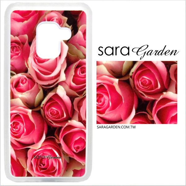 客製化 光盾 手機殼 OPPO R11 r11 透明防滑紋 保護套 軟邊 防摔殼 玫瑰花碎花