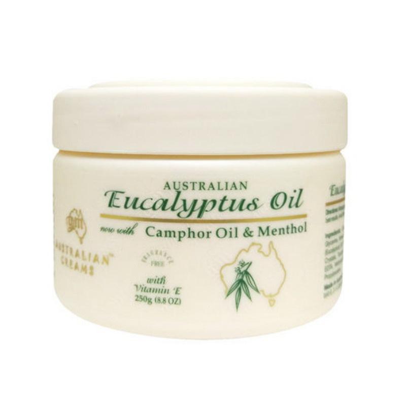 澳洲G&M 尤加利葉舒緩霜 Eucalyptus Oil Cream 250g