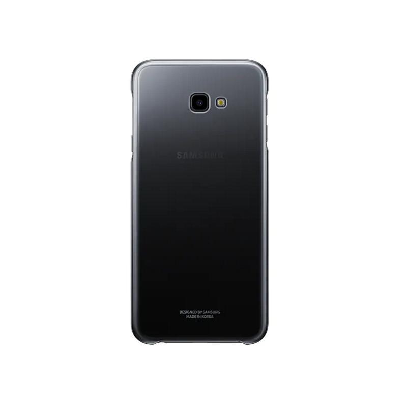 SAMSUNG Galaxy J4+ 漸層透明背蓋 黑