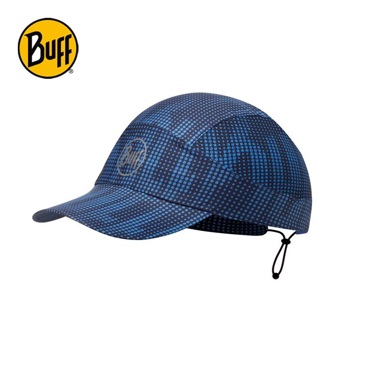 【西班牙 BUFF】海軍藍紋 可捲收跑帽