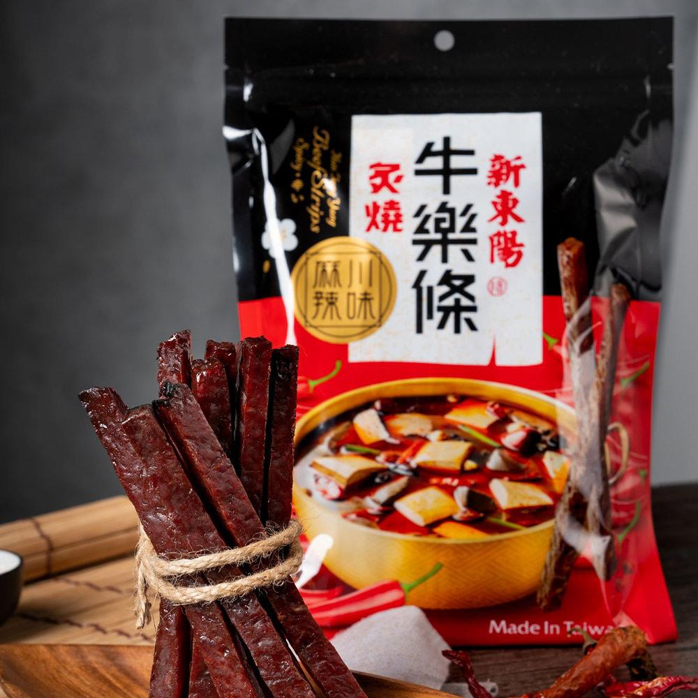 【新東陽】炙燒牛樂條-川味麻辣(150g*2包)