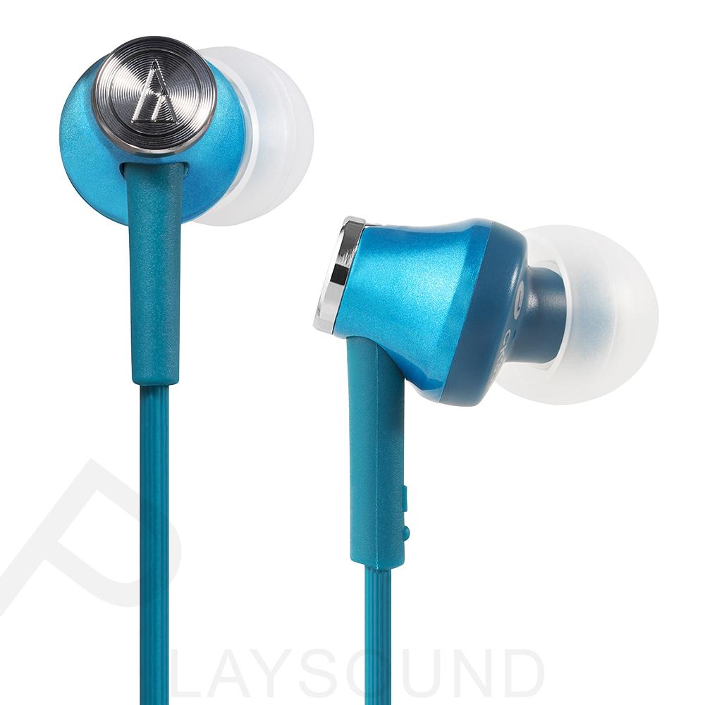 鐵三角 ATH- CK350M (TBL) 藍綠色 耳道式耳機