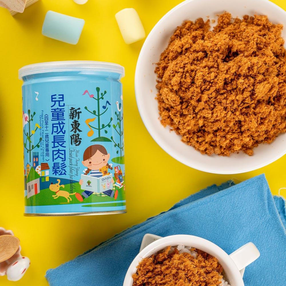 【新東陽】兒童成長肉鬆 (190g*3罐)