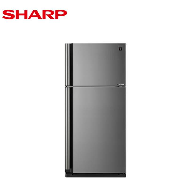 SHARP 夏普 541L SJ-SD54V-SL 自動除菌離子 變頻雙門電冰箱