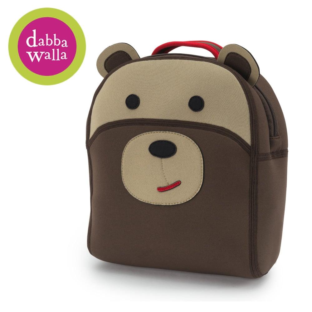 美國Dabbawalla瓦拉包 -棕熊防走失兒童後背包