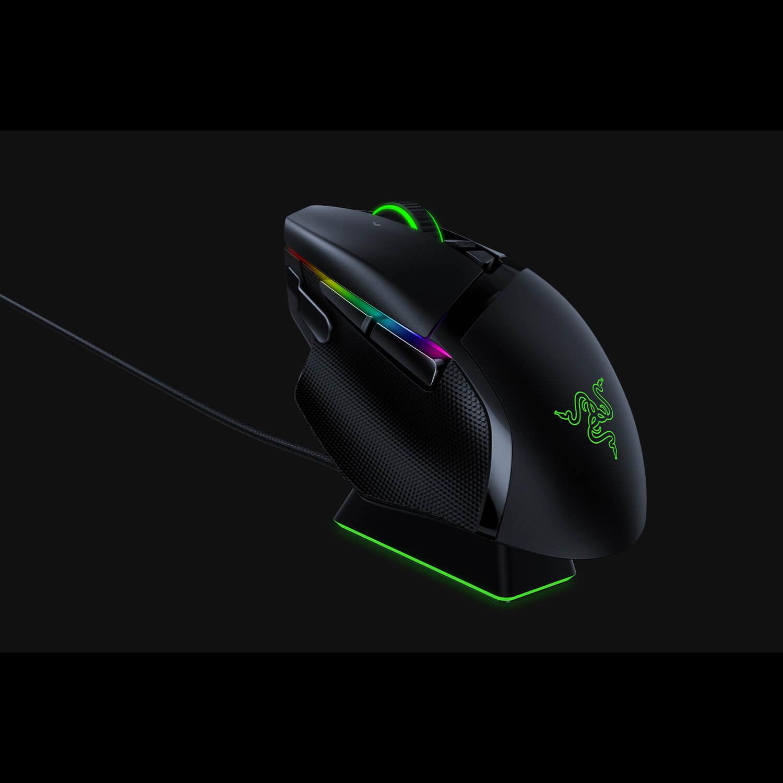 【RAZER 雷蛇】BASILISK ULTIMATE WIRELESS 巴塞利斯蛇 無線終極版 電競滑鼠