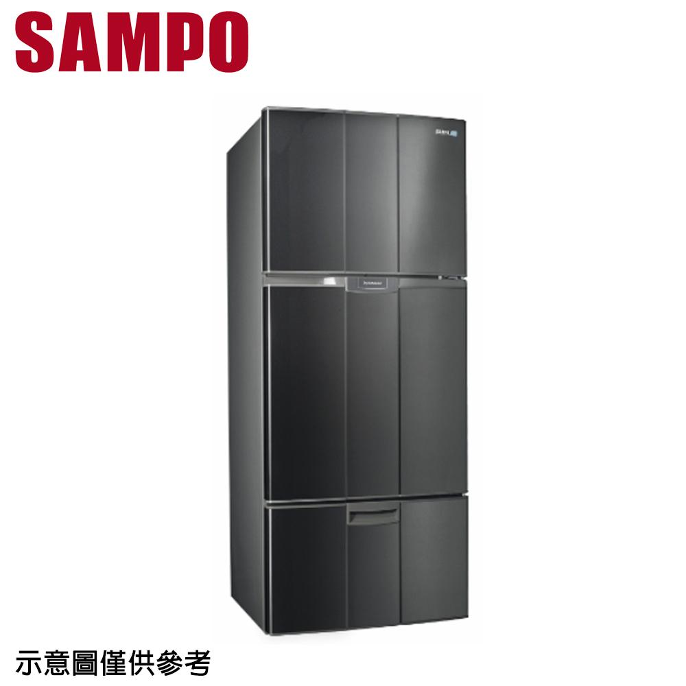 【SAMPO 聲寶】580公升定頻三門冰箱SR-A58GV(S3)