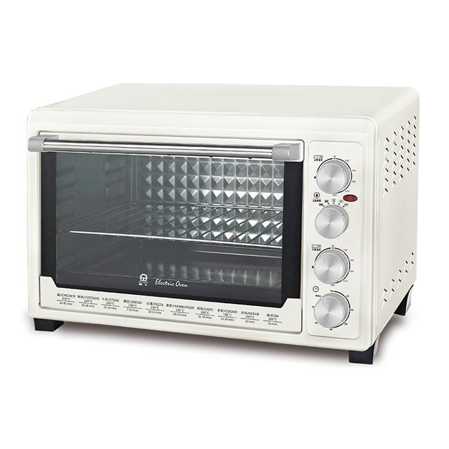 【晶工牌】45公升雙溫控旋風電烤箱 JK-7645