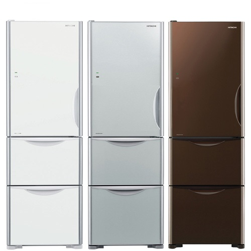 回函贈★送陶板屋餐券4張★日立 394公升三門(與RG41BL同款)冰箱GS琉璃瓷RG41BLGS