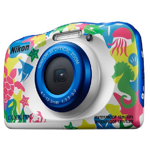 Nikon COOLPIX W100 公司貨 彩白 防水相機 公司貨